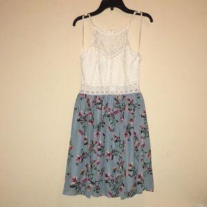 Floral Homecoming Dress / Sundress / Casual Dress